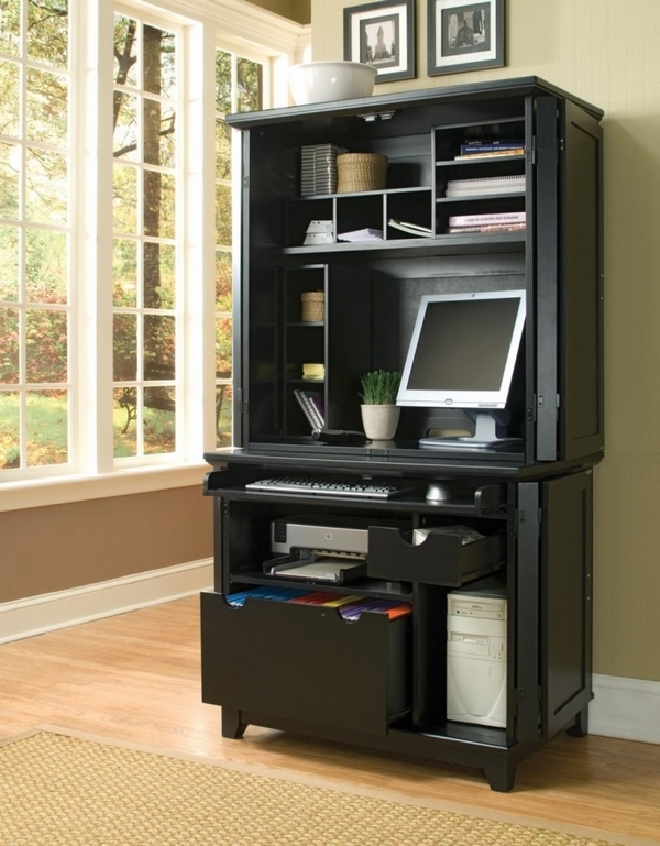10. portable desk shelves