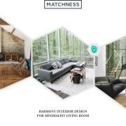 16. minimalist living room