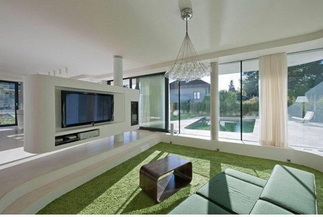 2. living room and dining room
