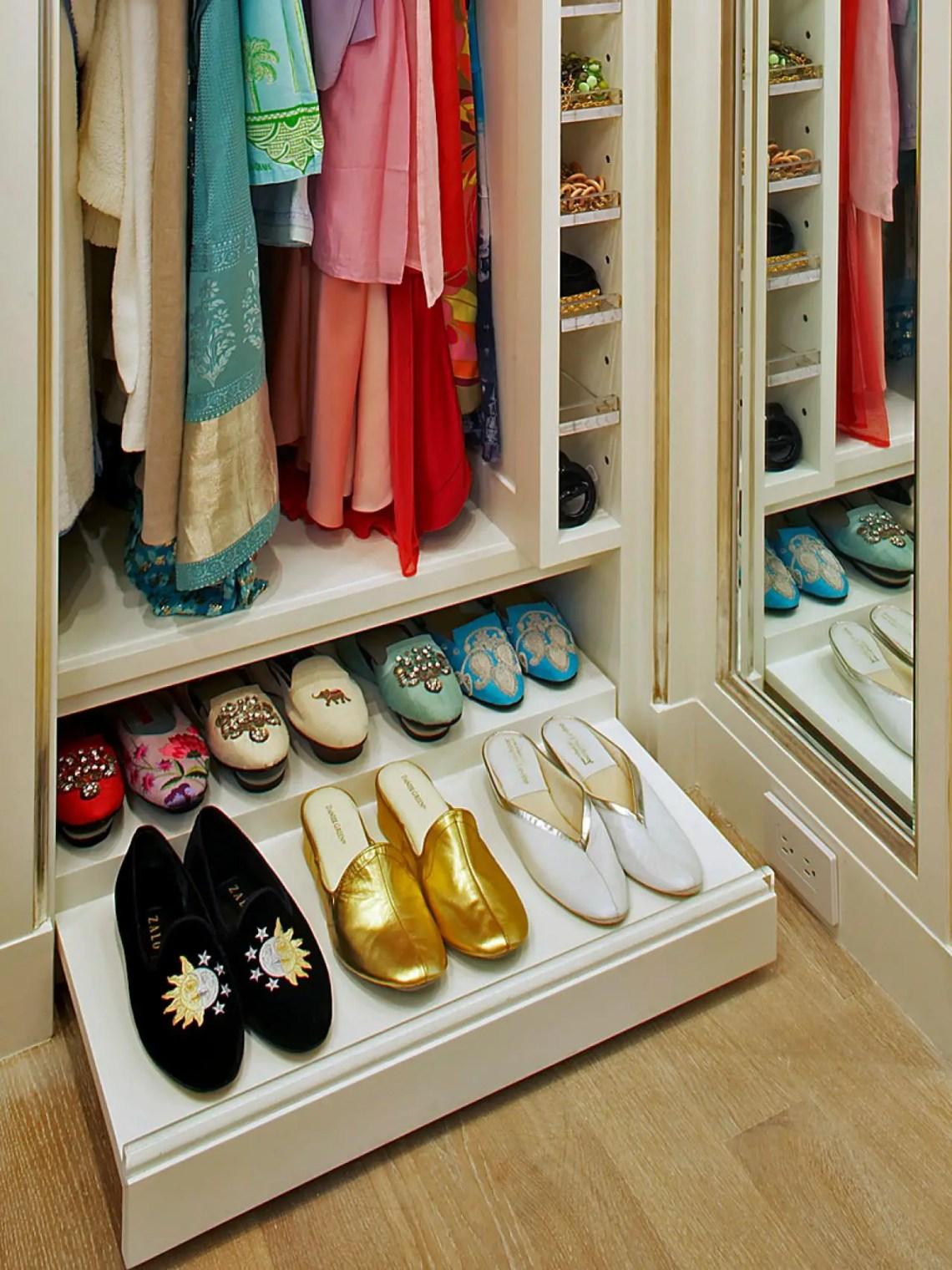 2. under wardrobe