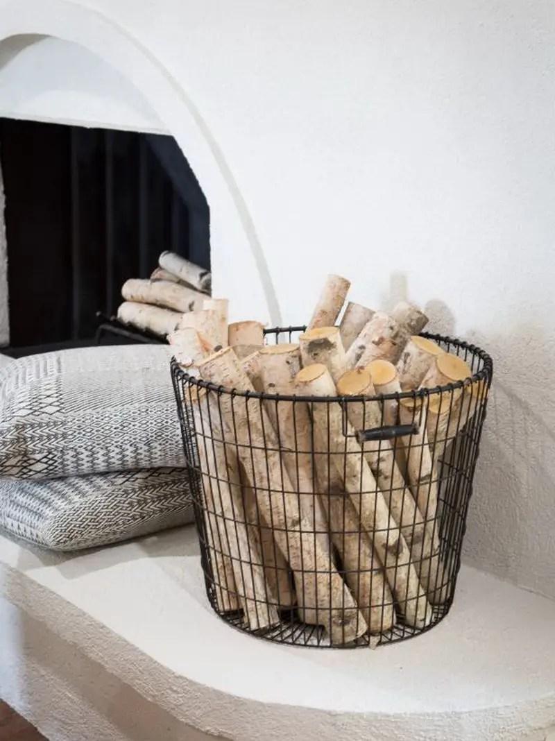 4. basket for firewood