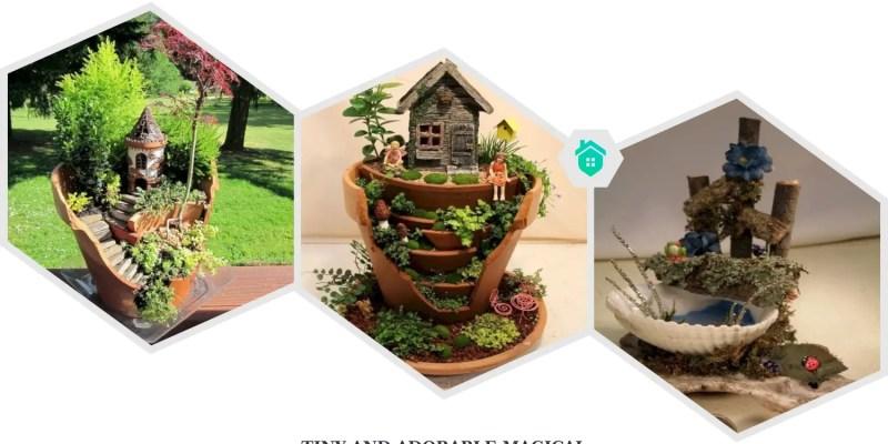 40. magical diy fairy garden ideas