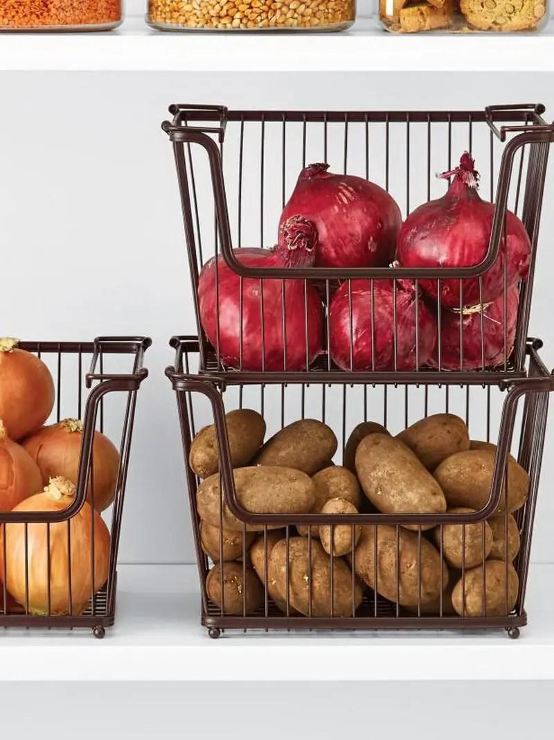 6. basket in the kitchen