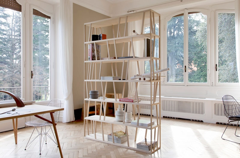 7. tiny bookshelves