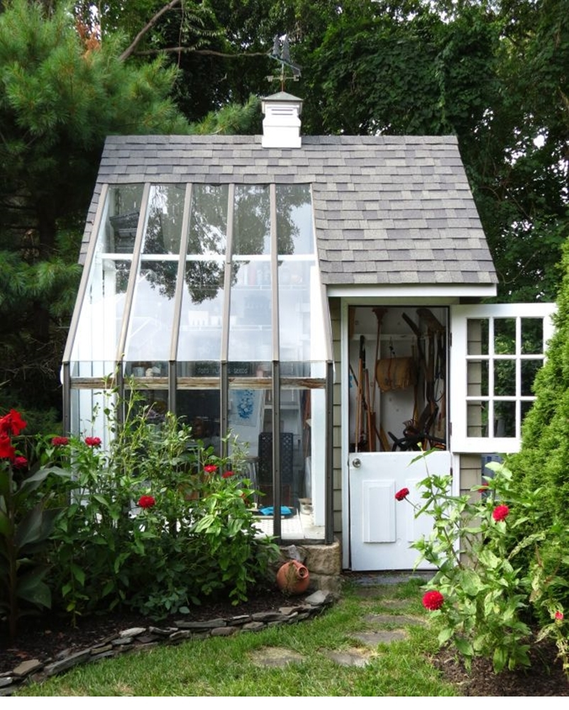 Backyard sheds design ideas that you will love 7