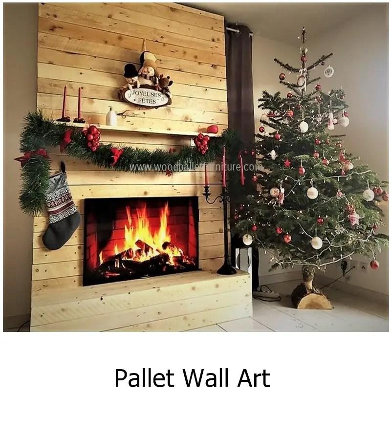 Pallet wall art 1