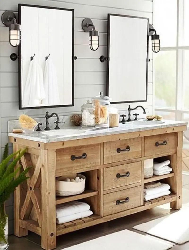 Rustic bathroom vanities 6