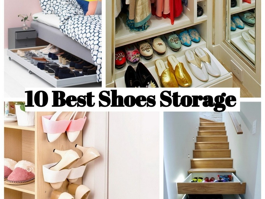 10 Best Shoes Storage Space to Keep Your Shoes Away from Clutter