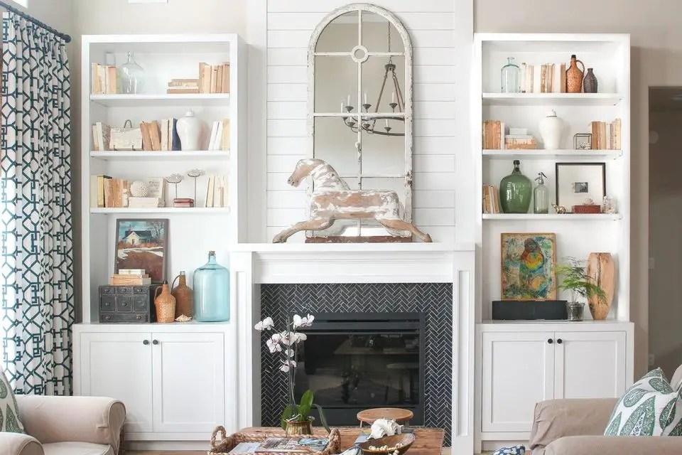 Tiled fireplace design ideas 1