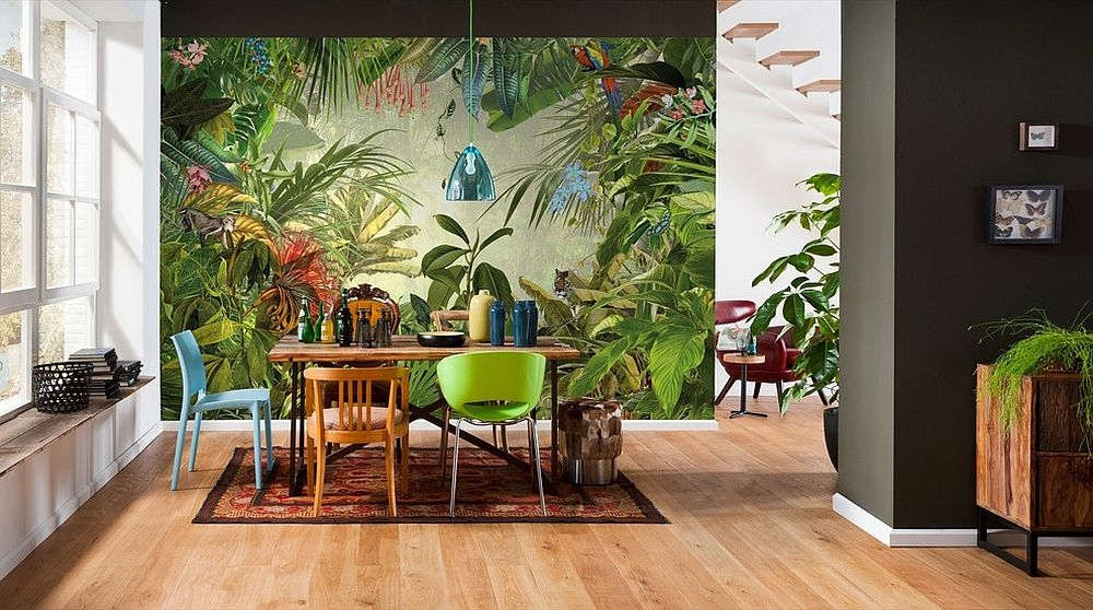 Tropical dinnning room