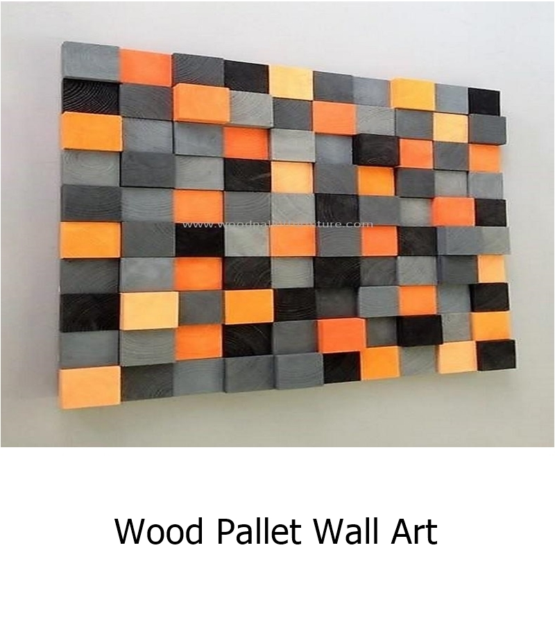 Wood pallet wall art 1