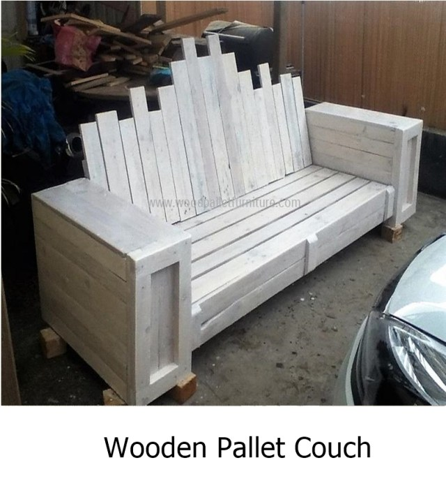 Wooden pallet couch 1