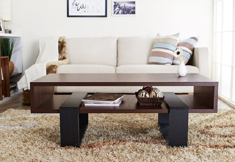 Upgrade living room with coffee table