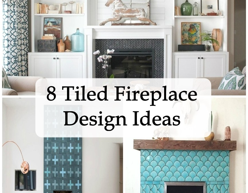 8 Tiled Fireplace Design Ideas