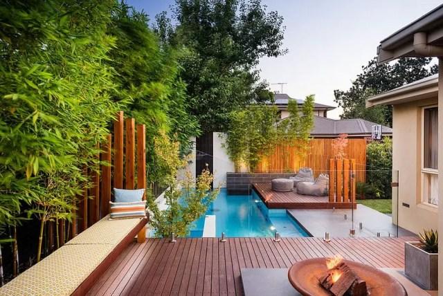 5. cute pool in backyard
