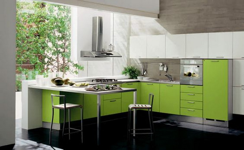 5. lime kitchen set