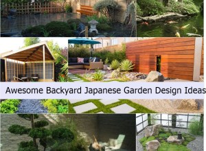 Awesome backyard japanese garden design ideas