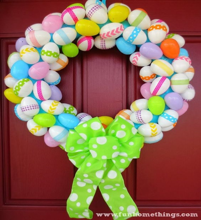Easter wreath 10