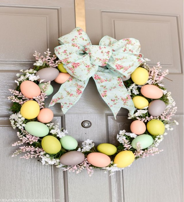Easter wreath 3