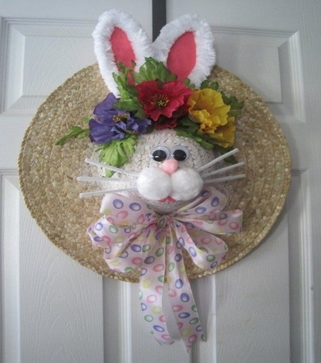 Easter wreath 6