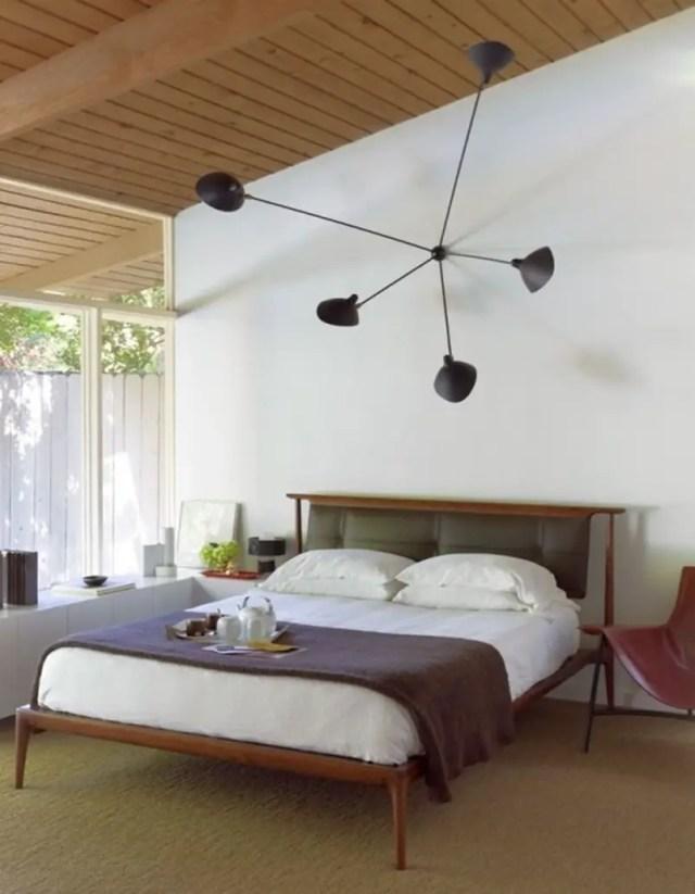 Mid century modern bedroom design ideas 1