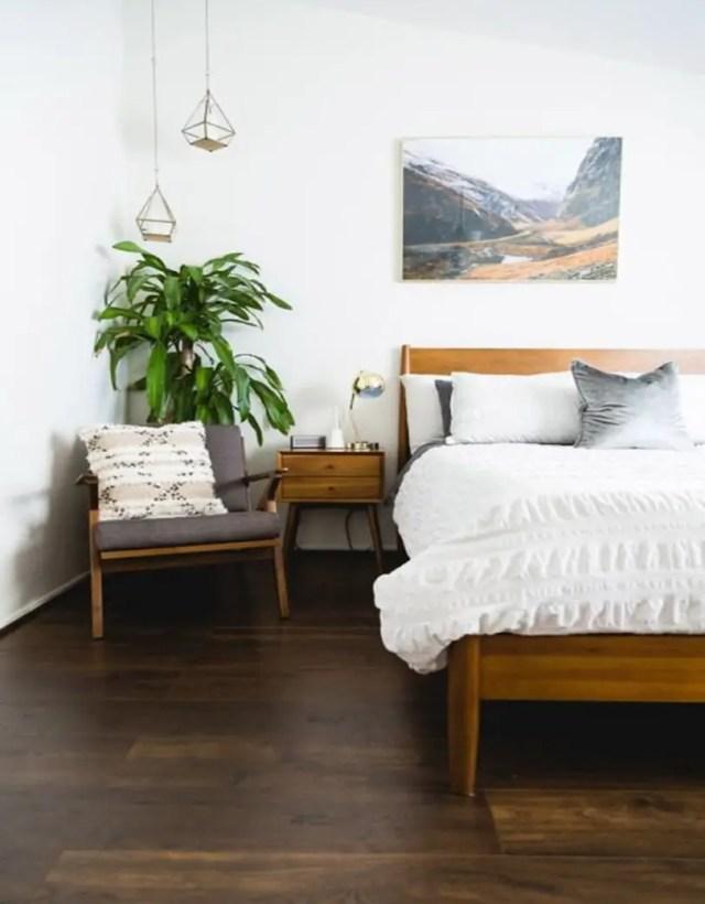 Mid century modern bedroom design ideas 12