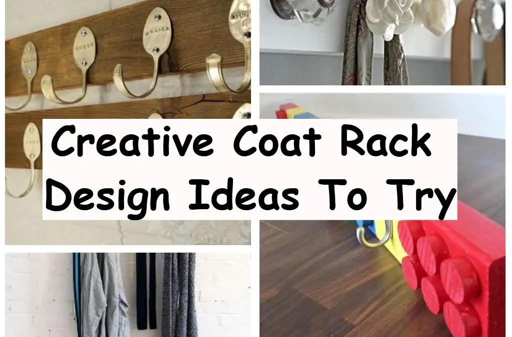 8 Creative Coat Rack Design Ideas To Try