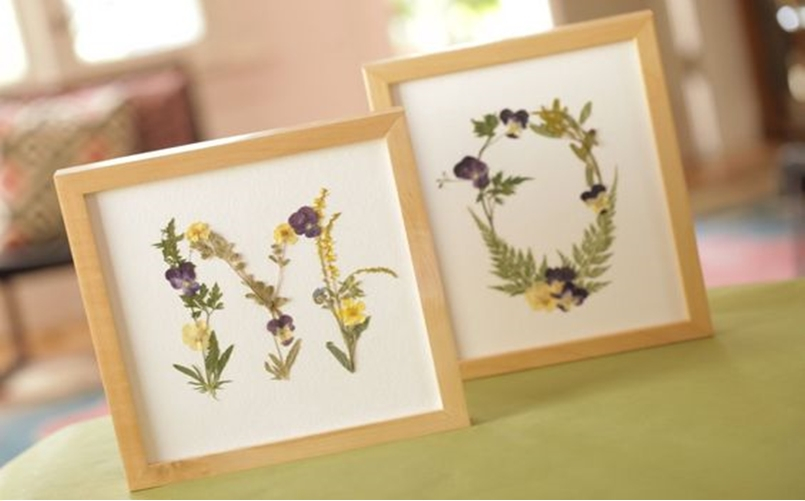 Diy pressed flower 11