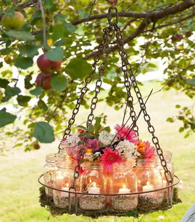 Mason jar spring decoration 8