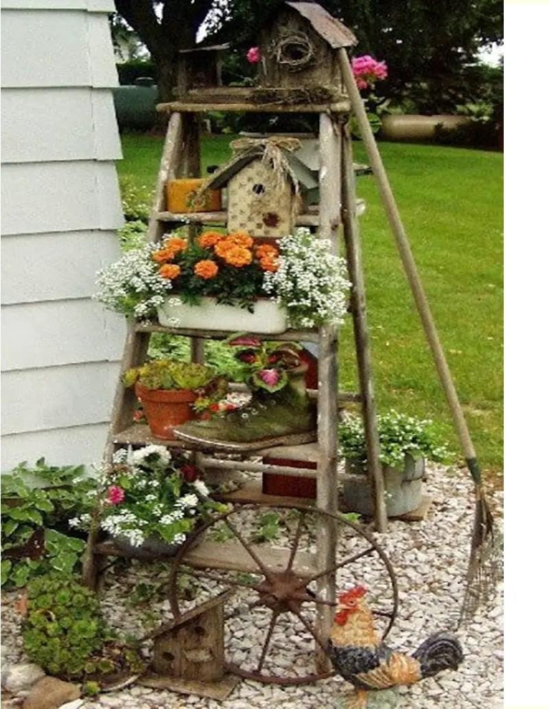 Shabby chic garden 3