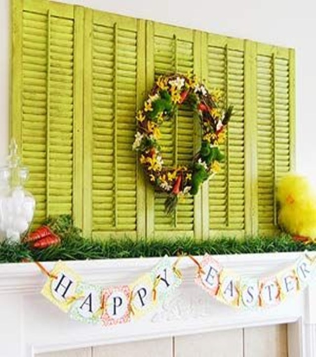 Spring mantel ideas 4