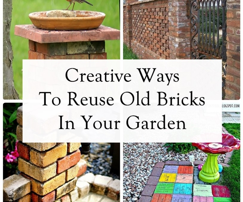 11 Creative Ways To Reuse Old Bricks In Your Garden
