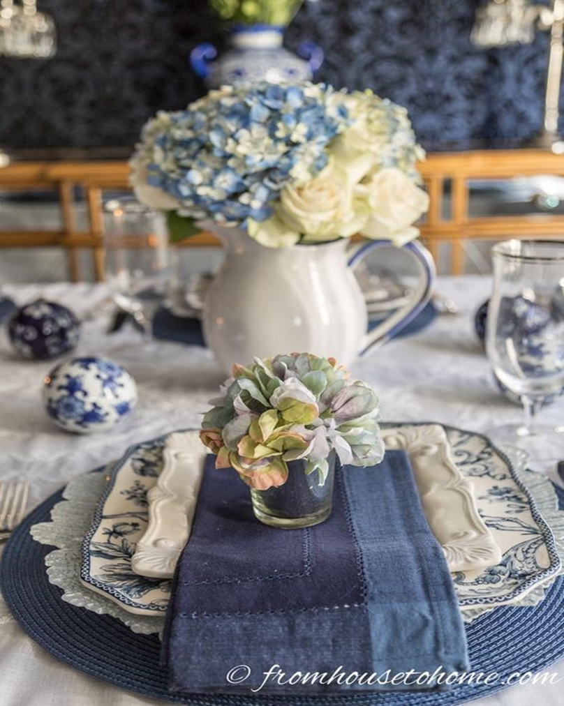 Spring table setting 1