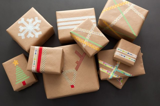 10. gift wrapping