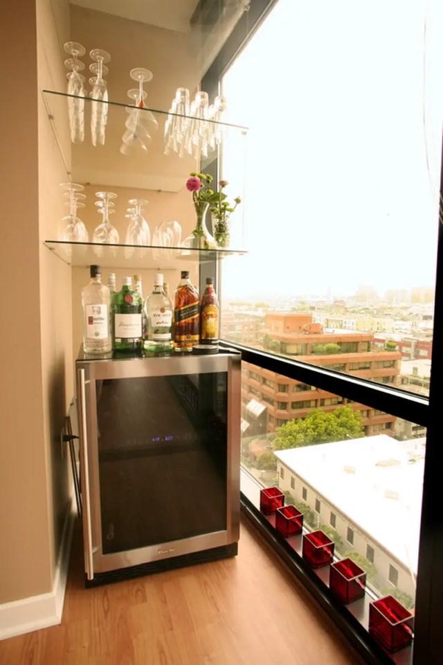 3. home bar