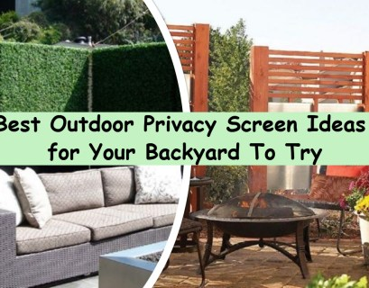 Best outdoor privacy screen ideas for your backyard to try