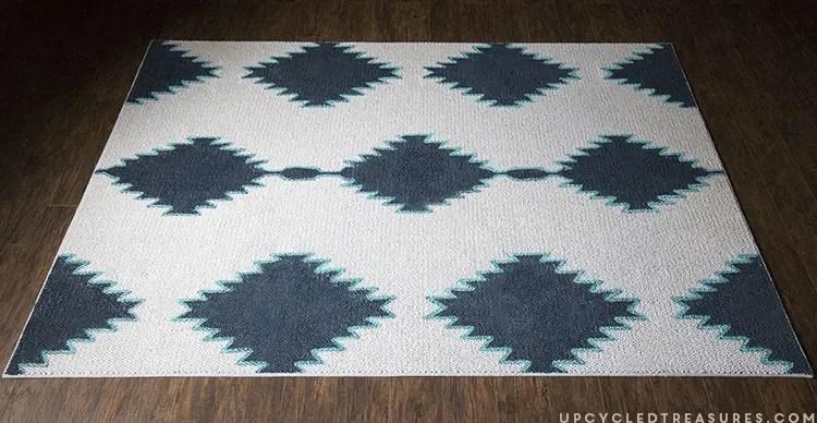 Diy west elm inspired rug