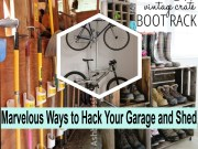 Marvelous ways to hack your garage and shed