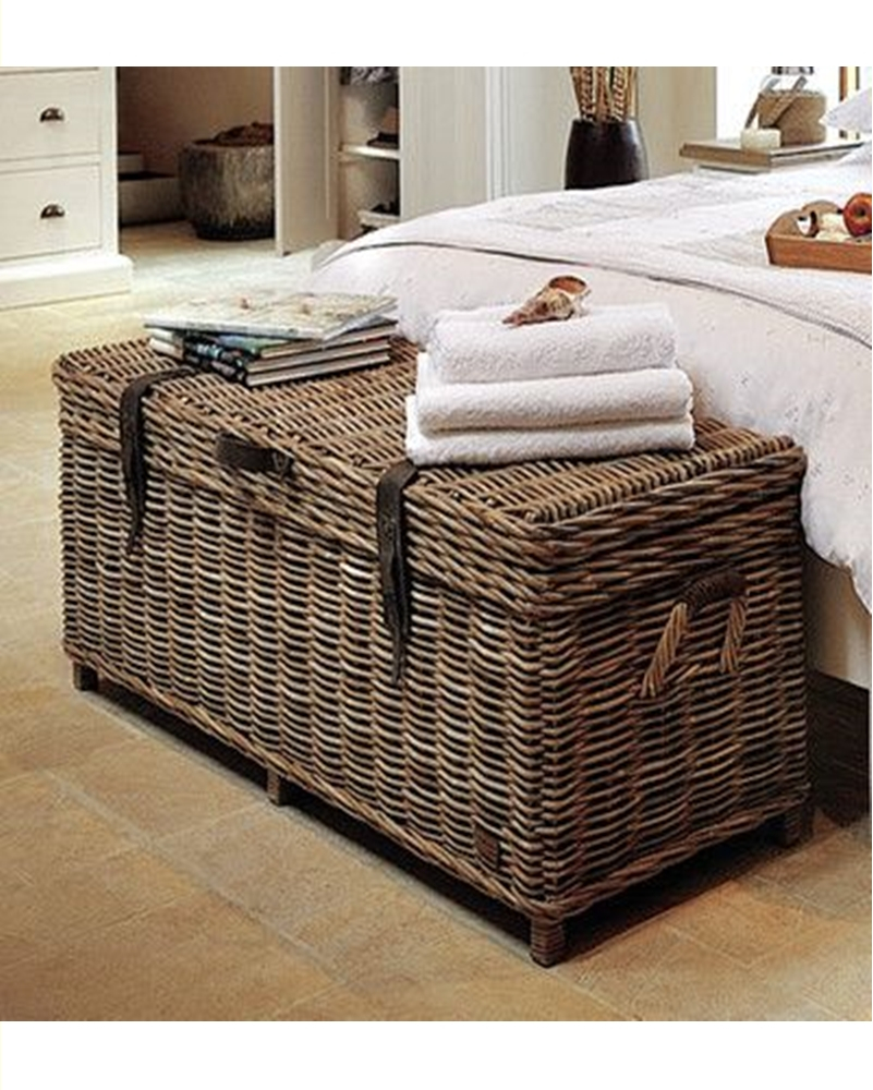 Wicker baskets decor 8