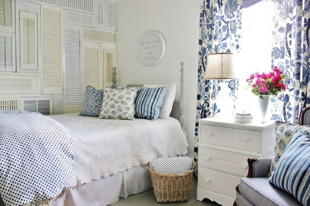 Repurposing in the farmhouse bedroom