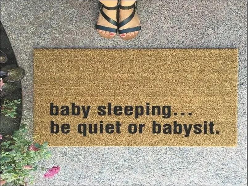 Funny doormat 10
