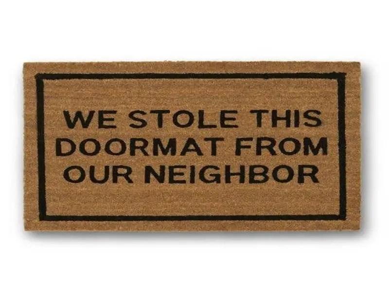 Funny doormat 6