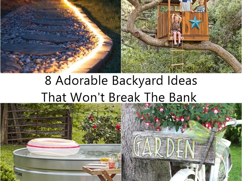 8 adorable backyard ideas that won't break the bank