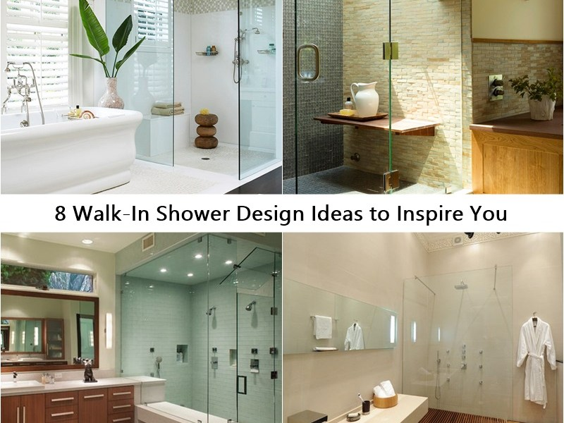 8 walk-in shower design ideas to inspire you
