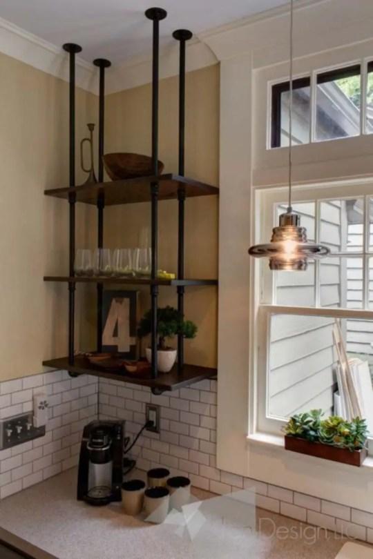 Genius corner storage ideas to upgrade your space 40