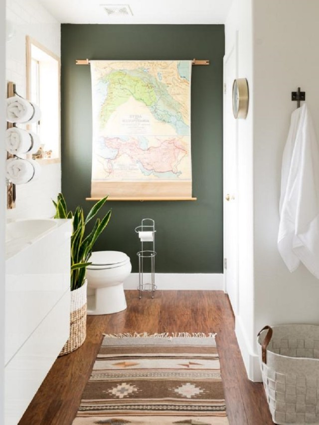 Try an accent wall