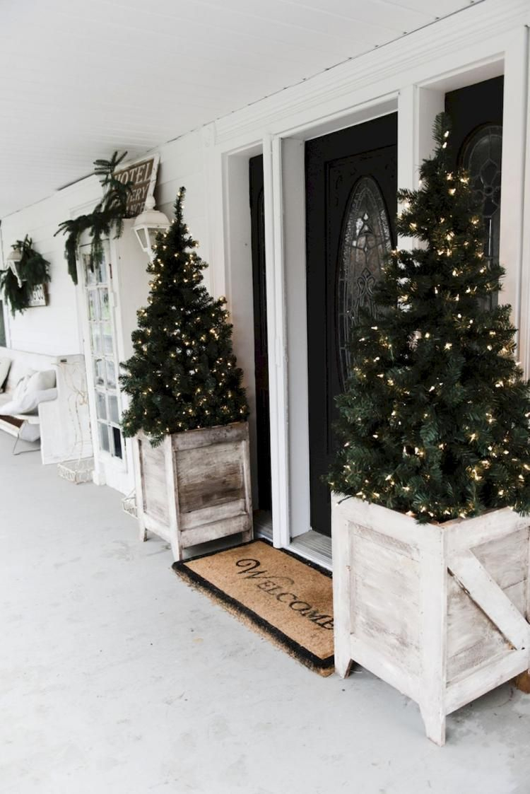 Adorable christmas porch décoration ideas 05