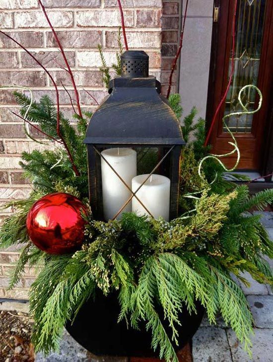 Adorable christmas porch décoration ideas 07