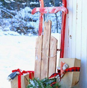 Adorable christmas porch décoration ideas 14