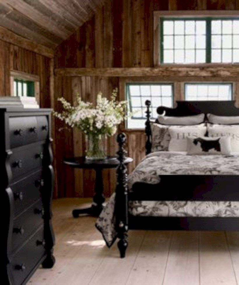 Classic and vintage farmhouse bedroom ideas 06